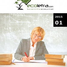 2015/ 01 - ECOLETRA.COM – SCIENTIFIC EJOURNAL